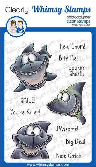 Whimsy Stamps Stempel - Lookin´ Shark (DP1067)