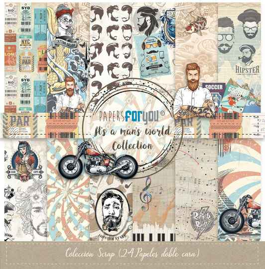 Papers For You Motivpapier - It ´ s A Man ´ s World (PFY-3043)
