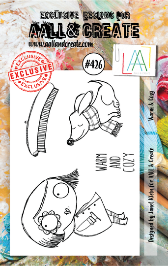 AALL & Create Stempel - Warm & Cosy #426