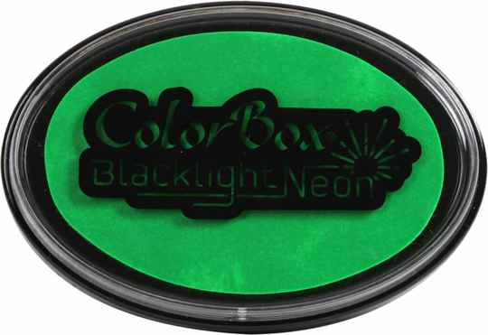 Clearsnap ColorBox Stempelkissen - Blacklight Neon Spring