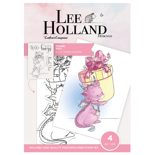 """Crafter's Companion Lee Holland """"Thank You"""" (LH-STP-TY)"""