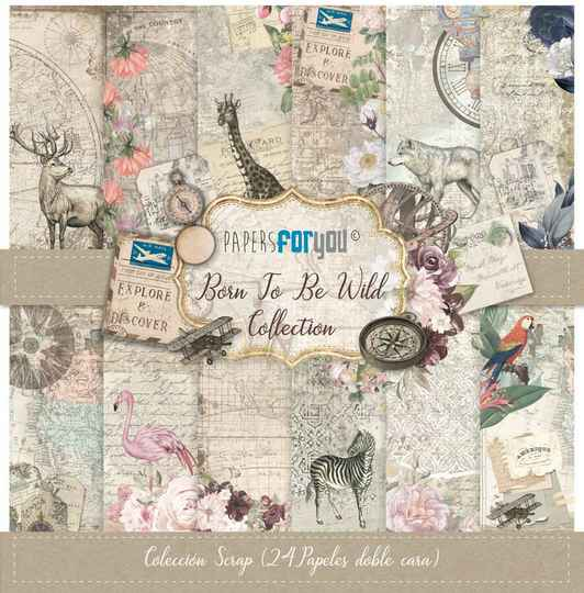 Papers For You Motivpapier - Born To Be Wild (PFY-3045)