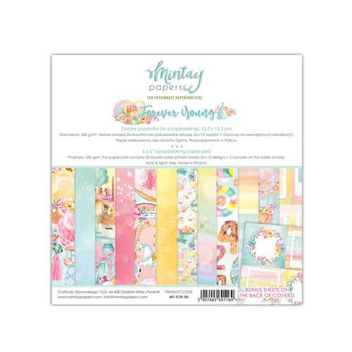 Mintay Motivpapier - Forever Young (MT-FOR-08)