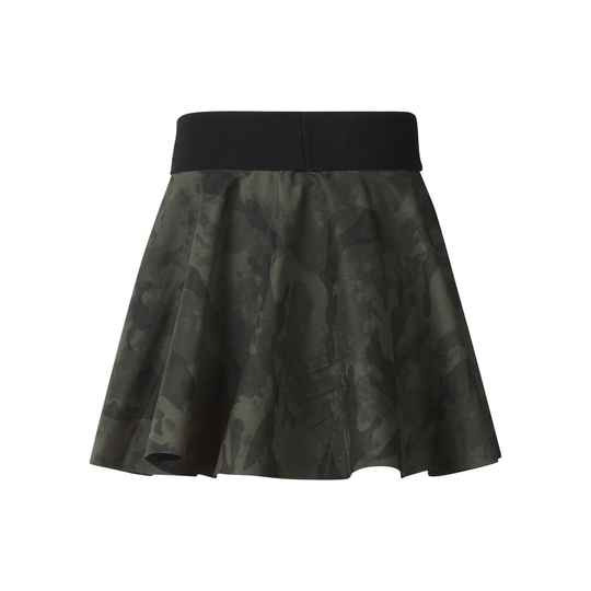Faux Leather - rok camouflage