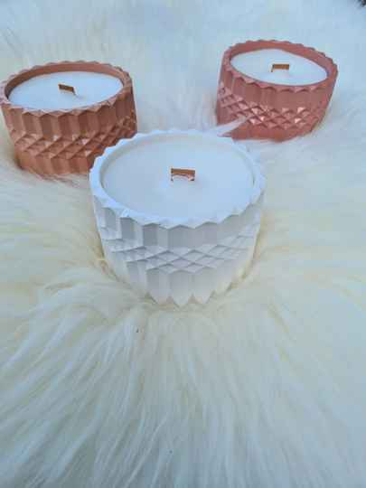 Scented candle wood wick