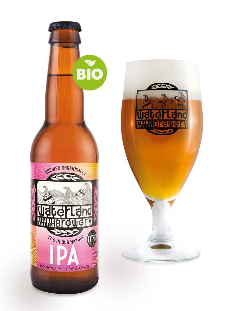 Waterland Low alcohol IPA 0,5% - 33CL