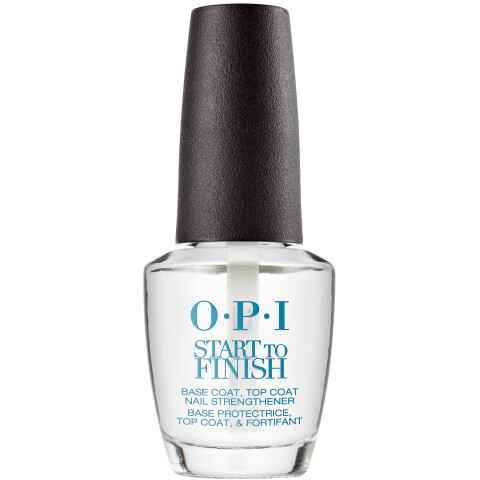 O.P.I - Start To Finish 3 en 1 - Base protectrice Top coat & fortifiant - 15 ml