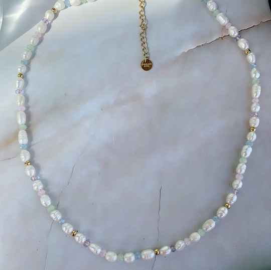 Musthave zoetwaterparel ketting