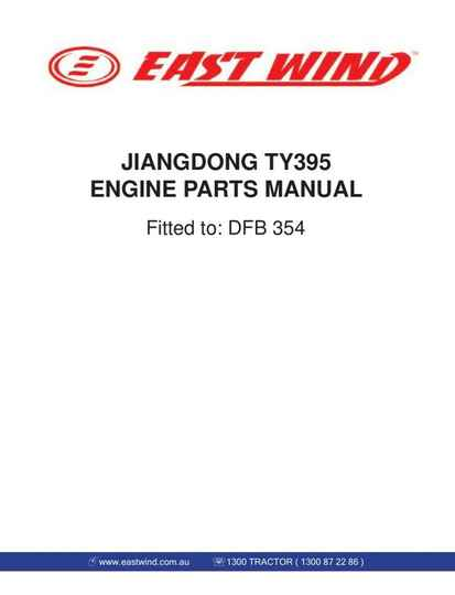 Dongfeng-ZB35-Engine-Service-Manual also includes ZB35 Tractor Parts Manual
