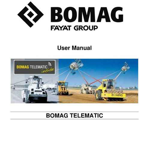 Bomag-Telematic-h12-User Instruction Manual