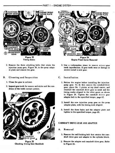 Ford County Tractors Workshop Manual