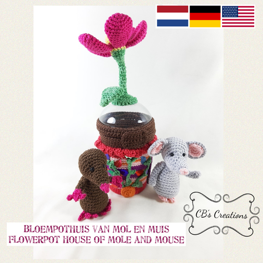 Flowerpot House of Mole and Mouse, PDF