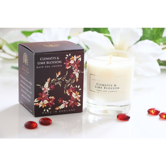 Geurkaars 170g - Clematis & Lime Blossom