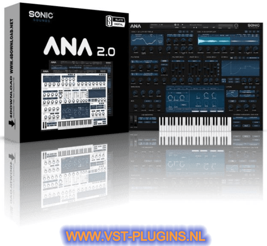 Sonic Academy ANNA 2 Software Synthesizer Plugin VST - 2021