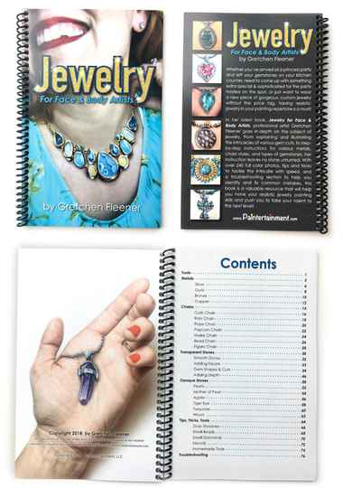 Jewelry for face & body artists - Gretchen Fleener