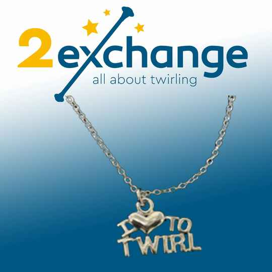 KETTING I LOVE TO TWIRL ZILVER