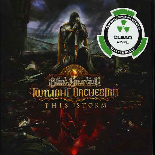 """Blind Guardian Twilight Orchestra – This Storm (clear) 7"""""""