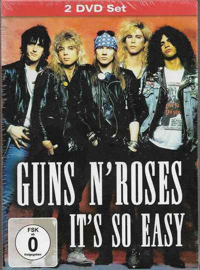 Guns N' Roses   You Could be Mine/It's So Easy  2 dvd