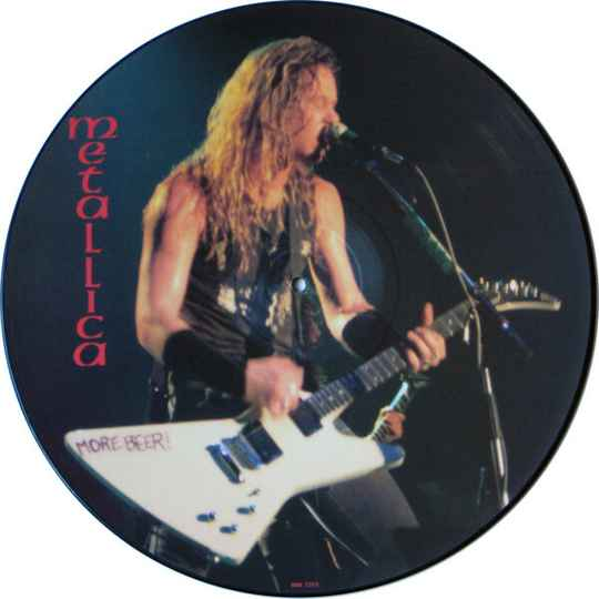 Metallica – Limited Edition Interview Picture Disc