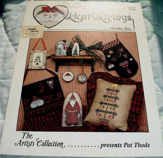 Hearts Etc. Counted Cross Stitch By HeartStrings AC-91