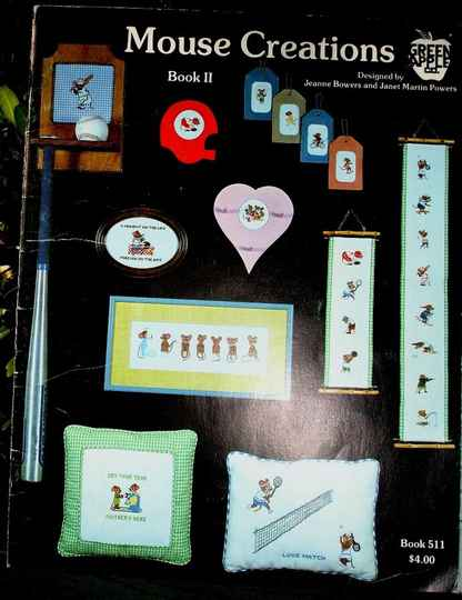 Mouse Creations Counted Cross Stitch Book II