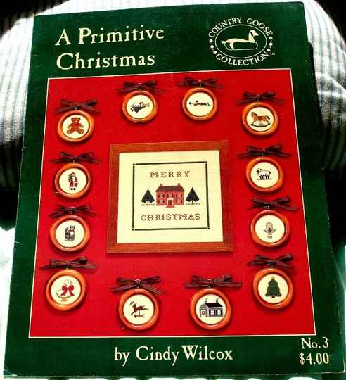 A Primitive Christmas By Cindy Wilcox For Country Goose Collection No.3