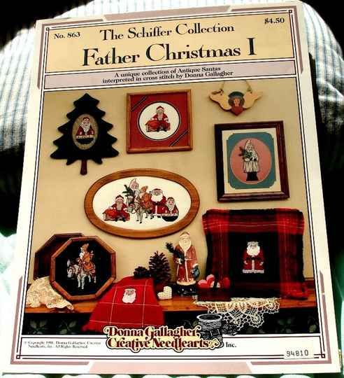 Father Christmas I The Schiffer Collection No. 863 By Donna Gallagher