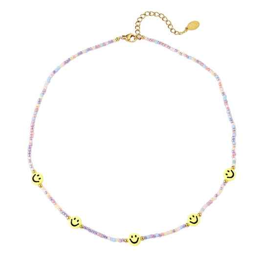 Necklace smileys