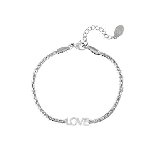Love armband zilver