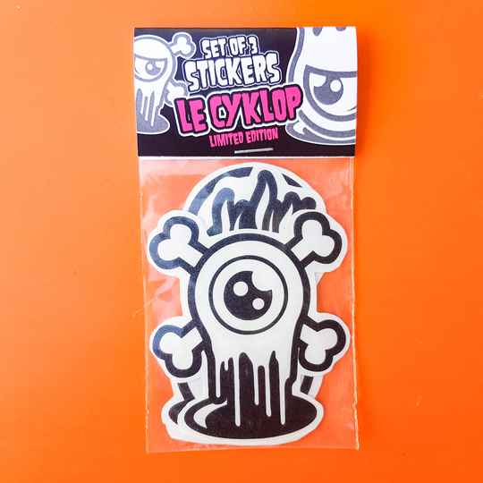 Set of 3 STICKERS #01
