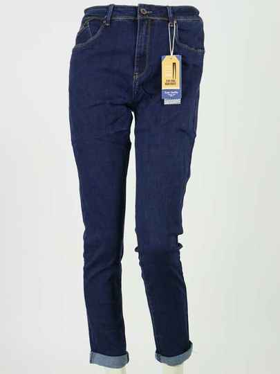 Norfy jeans Slim Fit donkerblauw
