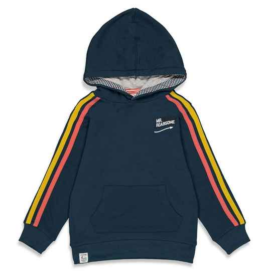 Sturdy hoodie donkerblauw - Press and Play