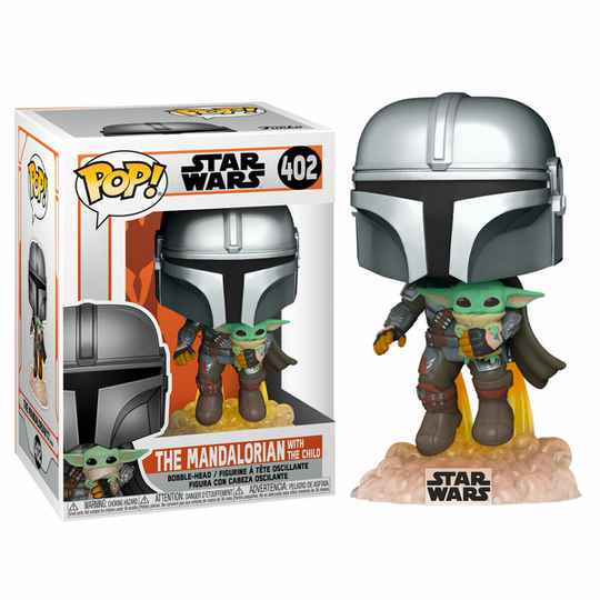 The Mandalorian with The child | Funko POP 402