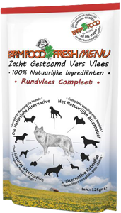 Farm Food Fresh Menu Rundvlees Compleet 125 gram