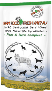 Farm Food Fresh Menu Pens en Hart Compleet 125 gram