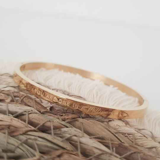 BANGLE 'one in a million'