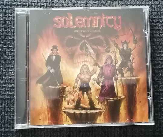 Solemnity - Shockwave Of Steel
