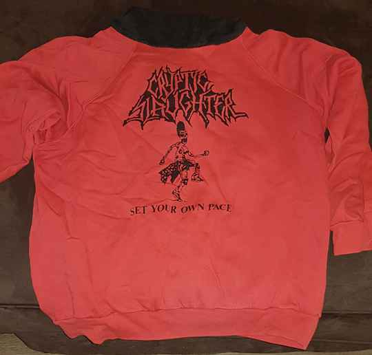 Cryptic Slaughter - Set Your Own Pace hooded