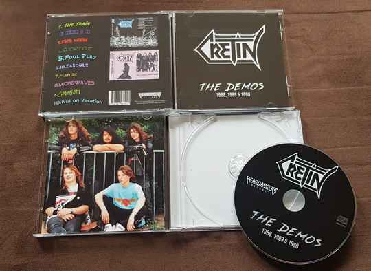 Cretin – The Demos 1988,1989 and 1990 (CD), Limited to 500 copies