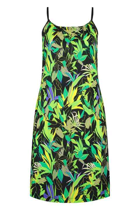 Plus Basic Halter print green