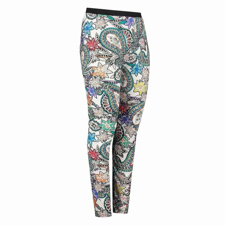 Plus Basic Paisley Legging
