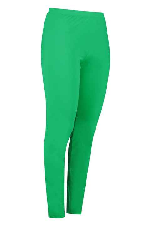 Plus Basic legging green