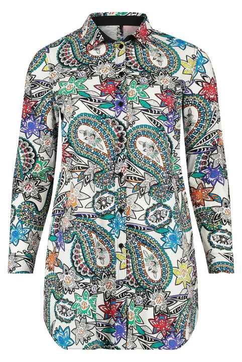 Plus Basic blouse paisley