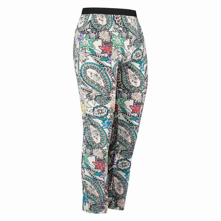 Plus Basic Pantalon Paisley