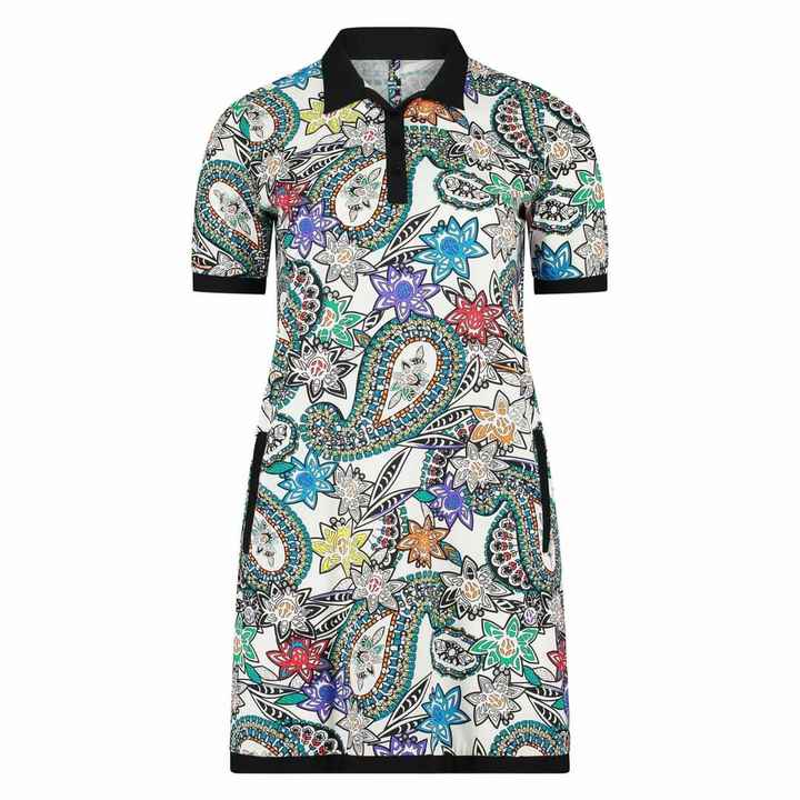 Plus Basic Polo Paisley