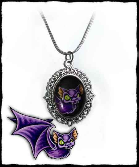 Necklace Bat