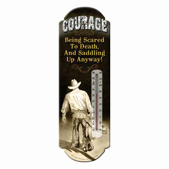 """Thermometer """" Courage """""""