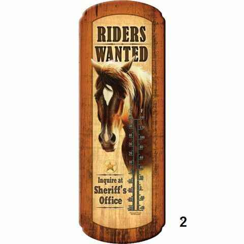 """Thermometer """" Riders Wanted"""""""