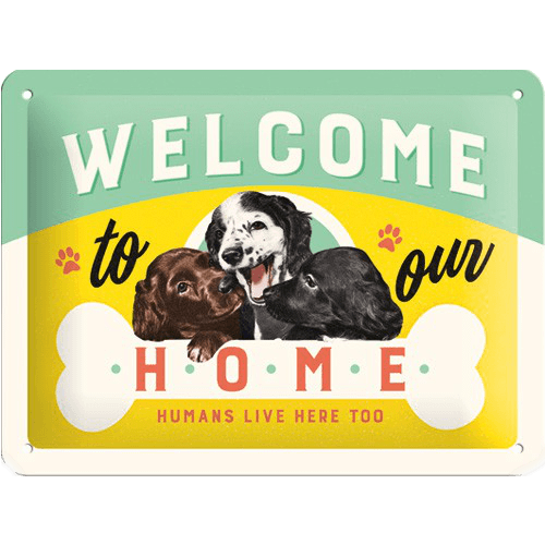 "Sign "" Welcome Home"""