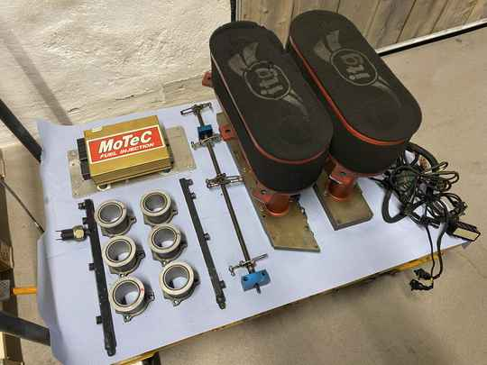 Complete slide valve set for a 3.8 L engine (964/993)